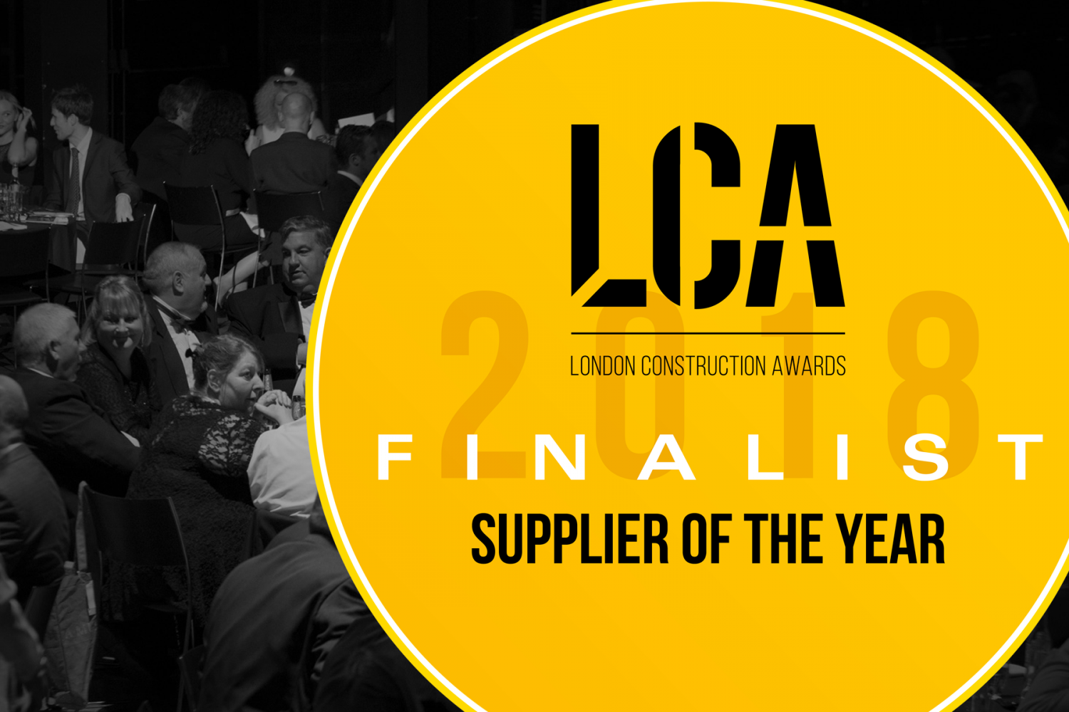 Lucas Shortlisted for the London Construction Awards 2018