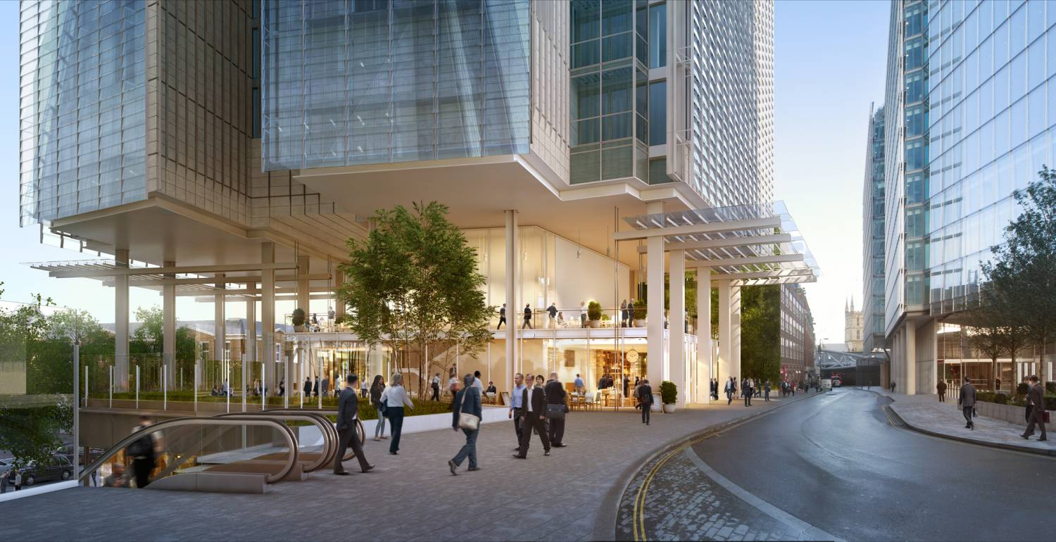 Lucas Scoops New project At The Shard Place