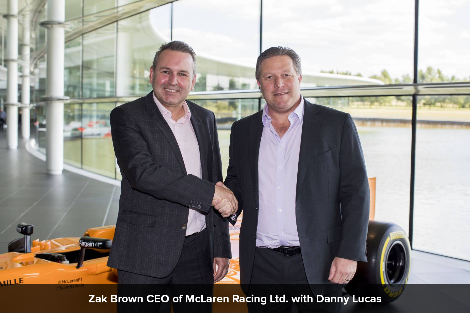 Lucas and McLaren Extend Technology Partnership for Further Three Years