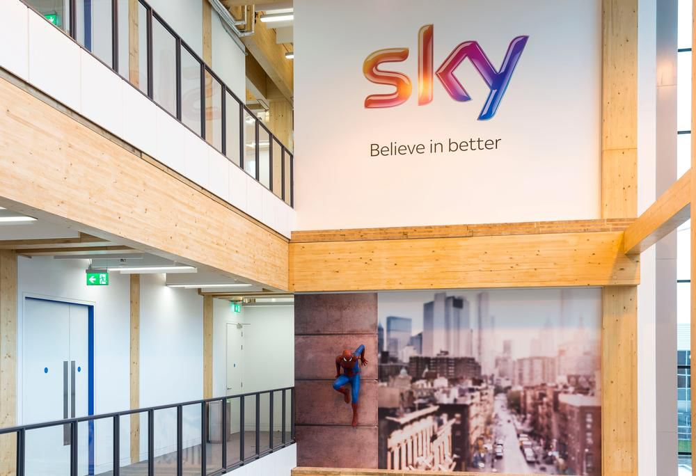 Bskyb Believe In Better Building Isleworth