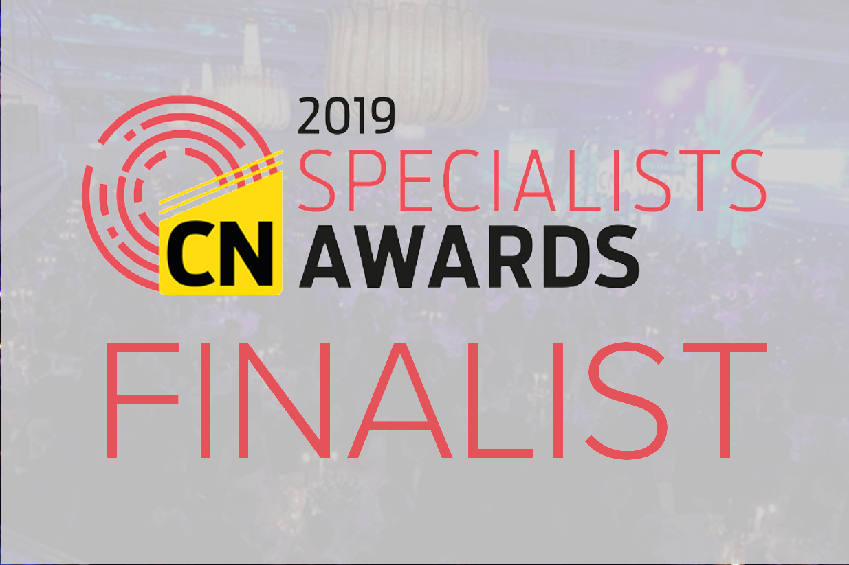 Lucas Shortlisted for New Construction News Specialist Awards 2019
